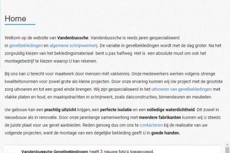 afbeelding realisatie   Vandenbussche-bvba.be
